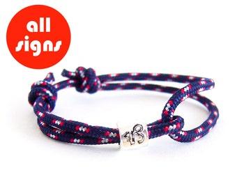 Zodiac Bracelet, Zodiac Constellation Capricorn, Zodiac Gift, Capricorn Bracelet. 3 mm