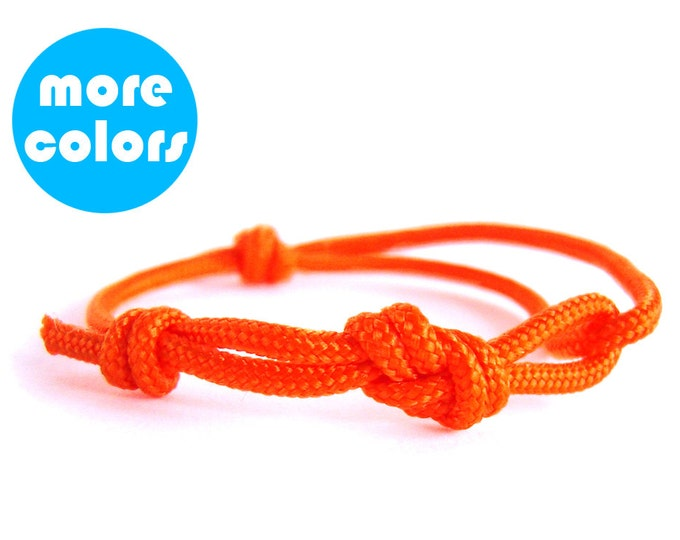 Simple Bracelet, Skinny Bracelet, Minimalist Bracelet, Paracord Survival Bracelet