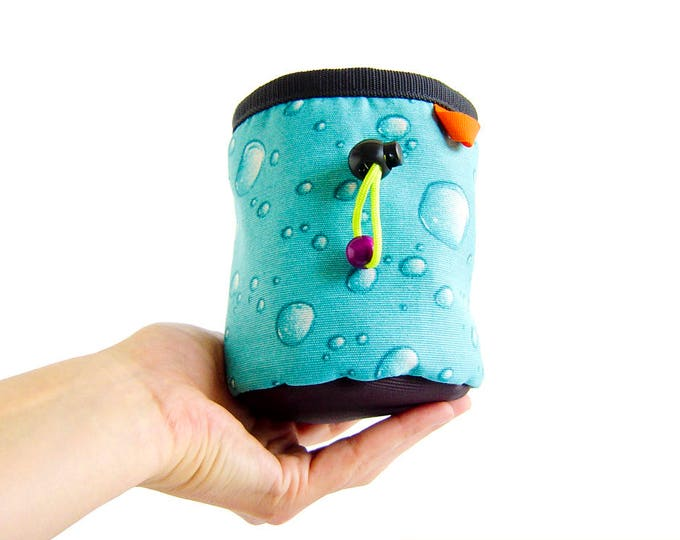 Kids Chalk Bag. Children's Climbing Chalk Bag. Chalk Bag for Children. Small Chalk Bag Climbing for Boy, Girl, Child. Size S