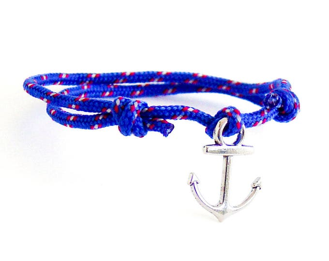 Gift For Men, Husband Gift, Gift For Husband, Husband Birthday Gift. Rope Anchor Bracelet