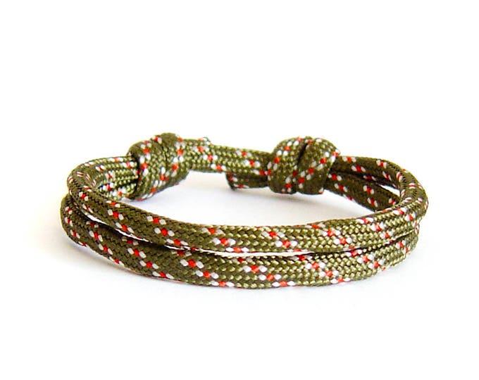 Mens Fashion, Nautical Rope Bracelet, Nautical Bracelet Mens. 4 mm