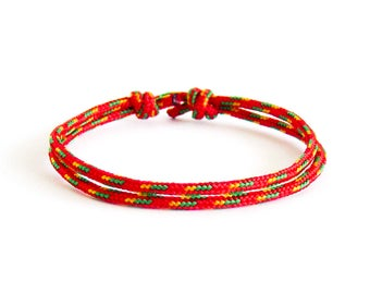 Husband Gift, Happy Birthday Husband, Birthday Gift. Rope Bracelet For Husband. 2 mm