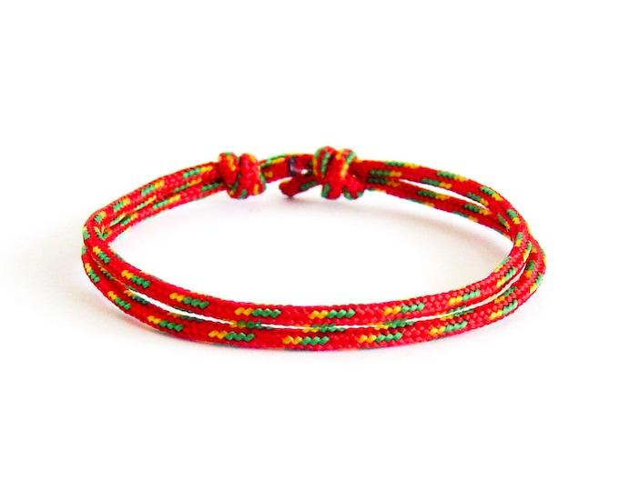 Husband Gift, Happy Birthday Husband, Birthday Gift. Rope Bracelet For Husband