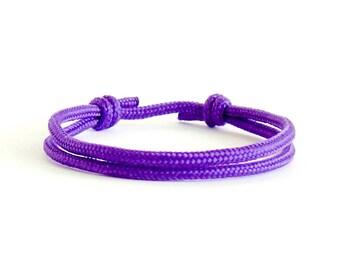 Quirky Bracelet, Quirky Friendship Bracelets, Quirky Bracelet Jewelry With Knots. Fun Men's Bracelet Of Rope