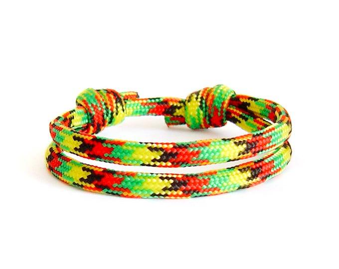 Jewelry For Men, Urban Jewelry, Paracord Bracelet, Braided Bracelet. 4 mm