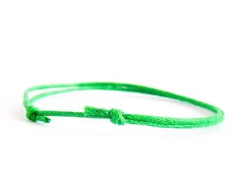 Man Gift, Man Bracelet, Man Jewelry, Friendship Bracelet Set. Thin Bracelet. 1 mm