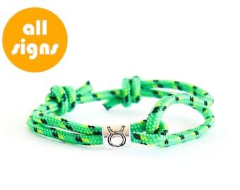 Men Accessories, Men Christmas Gift Ideas, Taurus Jewelry, Zodiac Jewelry Taurus Bracelet. 3 mm