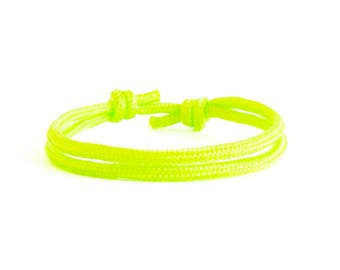 Simple Bracelet Gift, Neon Bracelet, Simple Bracelet Men, Men's Rope Bracelet Jewelry Sets. 3 mm
