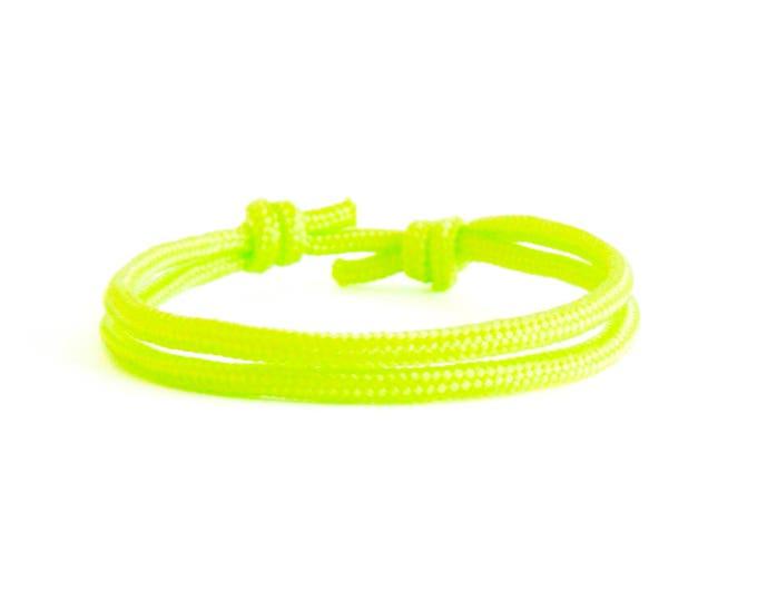 Simple Bracelet Gift, Neon Bracelet, Simple Bracelet Men, Men's Rope Bracelet Jewelry Sets. 3 mm