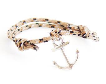 Sailor Bracelet, Cord Bracelet, Sailor Knot Bracelet, Sailor Gifts. 2 mm