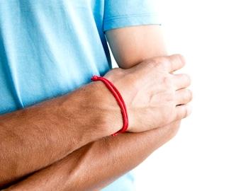 Travel Bracelet, Travel Jewelry, Travel Friendship Bracelets For Him, For Her. Gift Set For Lovers, Mens Bracelet. 3 mm