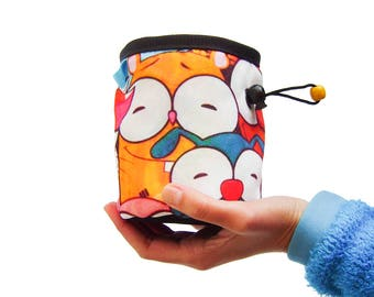 Funny Chalk Bag Climbing, Funny Climbing Chalk Bag, Funny Chalk Bag Handmade, Mens Designs. Chalkbag For Gym, Rock Climbing And Bouldering