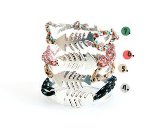 Dad Rope Bracelet, Dad Paracord Bracelet, Dad's Hugs Bracelet