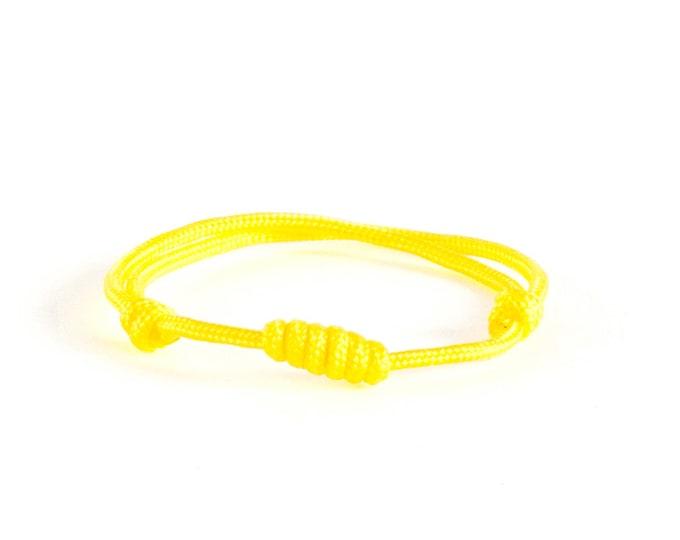 Rock Climbing Bracelet, Rope Bracelet, Braided Bracelet. Rock Climbing Jewelry. 3 mm