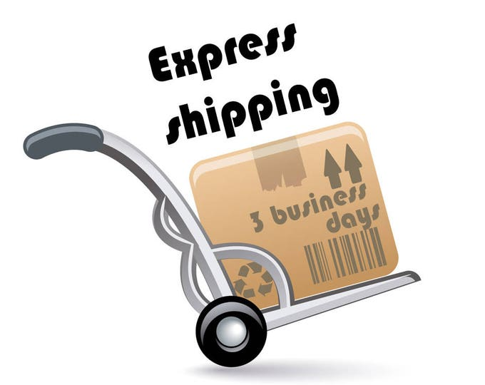 Express Delivery Upgrade Nadamlada. Fast Shipping Upgrade With DHL, TNT or DPD - 1-3 Business Days Delivery