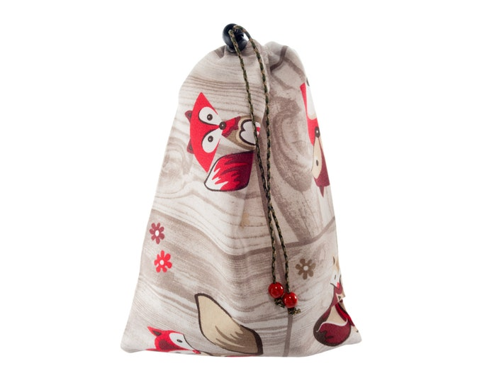 Fabric Toy Storage Bag, Childrens Kids Portable Sack. Small Toy Canvas Bag. H30/W22 cm