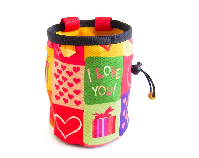 Bouldering Chalk Bag XL, Bouldering Chalk Bucket, Large Bouldering Chalk Bag. Best For Gym, Rock Climbing. Large And Big