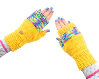 Gloves Women, Gloves Mittens, Gloves Knitted for Women Warm Winter Accessories, Designer Fingerless Gloves for Cold Weather