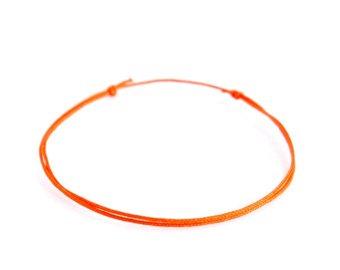 Expandable Bracelets For Women, Friends, Men, Mom, Wife. Friendship Adjustable Rope Knot Cuff, Journey Bracelet Ideas. 0.8 mm