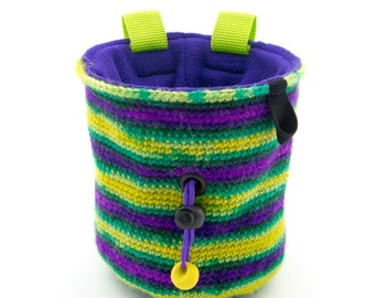 Handmade Rock Climbing Chalk Bag M Size