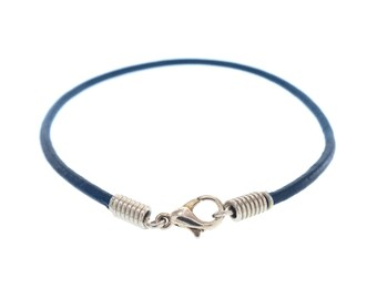 Man Bracelet. Man Leather Bracelet. Man Jewellery, Man Leather Bracelet Wrap Man Leather Bracelet Personalize Adjustable Cuff. 2 mm