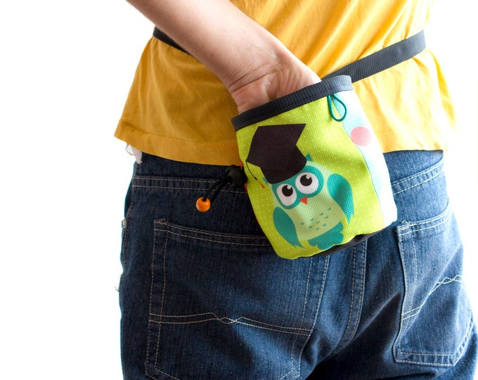 Cool Chalk Bag for Rock Climbing. Best Chalk bag. Awesome chalk bags. Climber Gifts M size