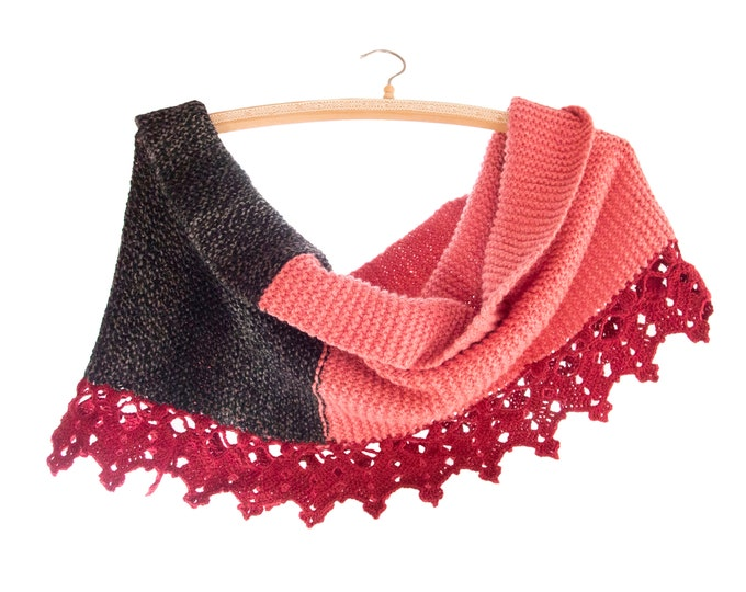 Scarf Women Winter, Scarf Women Wool, Scarf Women Knitted, Handmade Cowl Head Luxury Infinity for Warm Winter