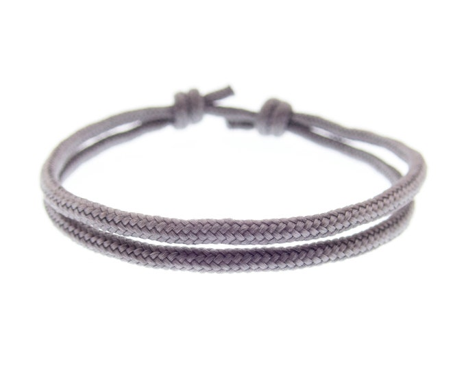 Surfer Bracelet Men and Women, Surfboard Wristband for Guy, Rope String Style Friendship Jewelry for Man. 2 mm