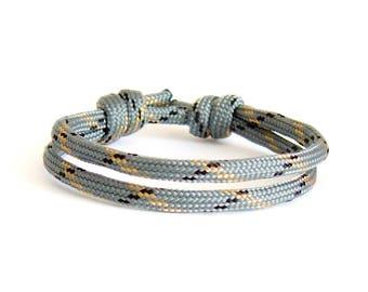 Mens Cord Bracelet, Mens Birthday Gift, Matching Bracelets. Matching Couple Jewelry. Unisex
