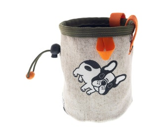 Rock Climbing Gift Chalk Bag for Kids, Best Presents for Climbers, Indoor Wall Climb Bouldering Gifts Idea. S Size