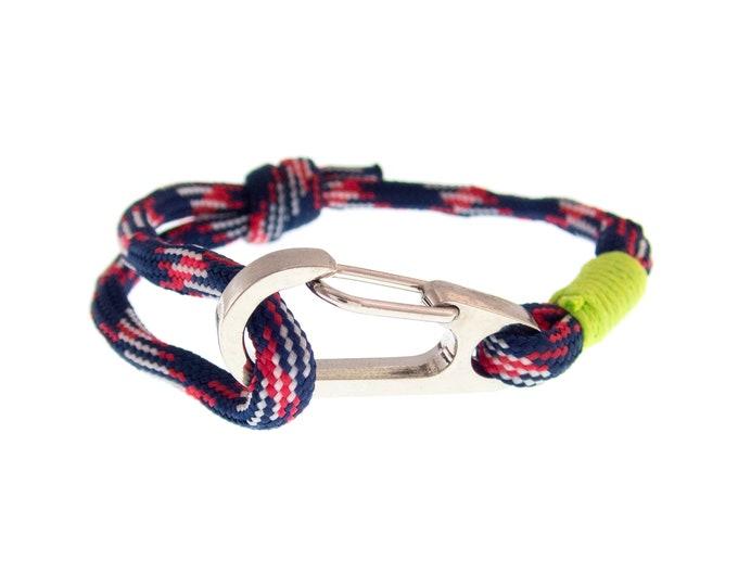Toggle Bracelet, Stainless Steel Bracelet, Steel Jewelry, Mens Gift. 4 mm