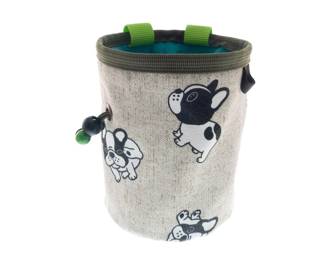 Equipment Needed for Bouldering Exercise Chalk Bag, Outside or Indoor Gym Vertical Training for Beginners and Advanced Lessons. L Size
