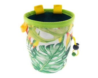 Gifts for Rock Climbers Chalk Bag, Rock Climbing Presents for Rock Climbers Ideas Chalk Bucket, L Size