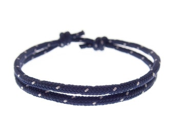 String Bracelet Men, Men's Fashion Friendship Jewelry for Guys or Women, Male Valentines Gift for Him, 2 mm