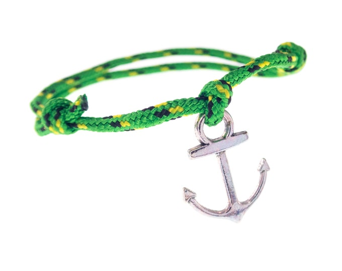 Anchor Rope Bracelet For Men, Anchor Jewellery, Anchor Bracelet Women, Anchor Friendship Bracelet. 2 mm