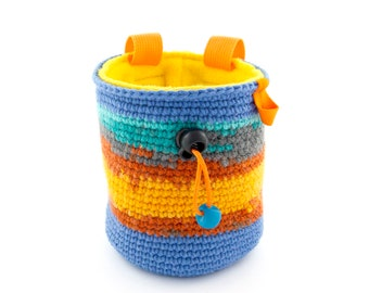 Best Climbing Gifts Chalk Bag for Couples, Cool Rock Climbers Gym Present Ideas for Her, Him, Girl, Boy, Men's, Women's. M Size
