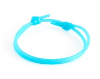 Mens Silicone Bracelet, Cool Rubber Wristband, Thin Couples Sports Wrist Bracelet Men. 2 mm