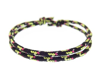 Golf Bracelet, Athletic Club Wristband Homme, Mens, Womens, Youth Rope Style String Wrist Bracelet, 2 mm