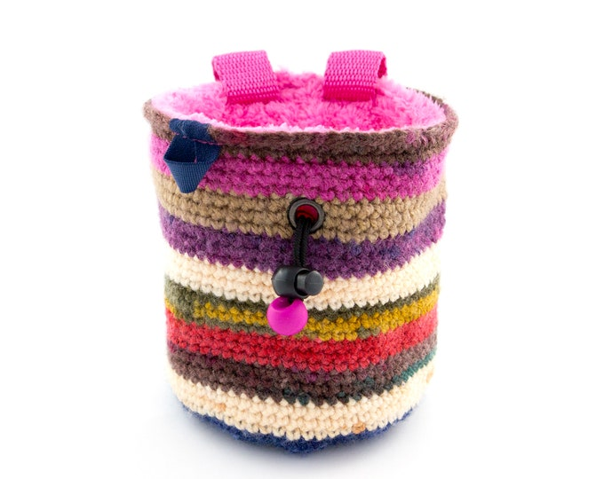 Rock Climbing Gifts for Her, Best Awesome Chalk Bag Birthday Party or Christmas Gifts Ideas, M Size