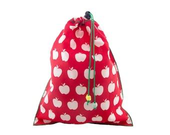 Shoe Bag Woman, Shoe Bag Man, Shoe Bag Travel. For Work, Rock Climbing, Gym, Golf. Drawstring Storage Pouch H34/W28 cm