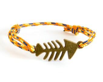 Dad Rope Bracelet, Dad Paracord Bracelet, Dad's Hugs Bracelet. 2 mm