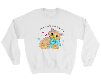 Non binary and bitter Sweatshirt