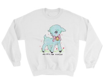 No pity for rapists Sweatshirt