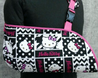 bce6364c1 Ships on TUESDAY, JULY 16 LIMITED! Hello Kitty Child Arm Sling - child arm  sling- Limited sizes available