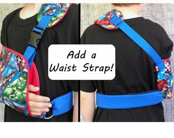 Add a Waist Strap to your Arm Sling - Arm immobilizer - arm sling support