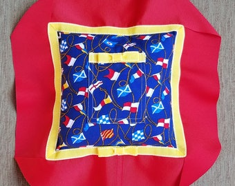 """Red, Yellow, and Blue Tooth Fairy Pillow---""""William"""""""