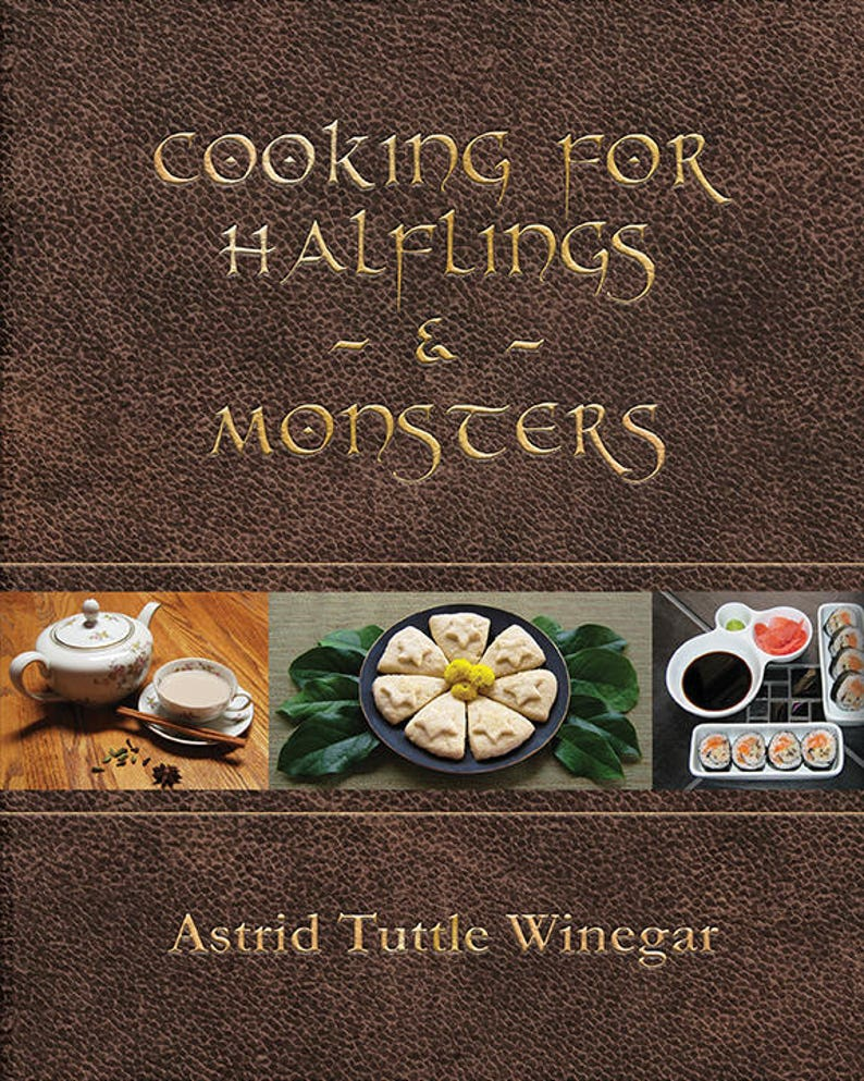 Cooking for Halflings & Monsters: 111 Comfy Cozy Recipes for image 0