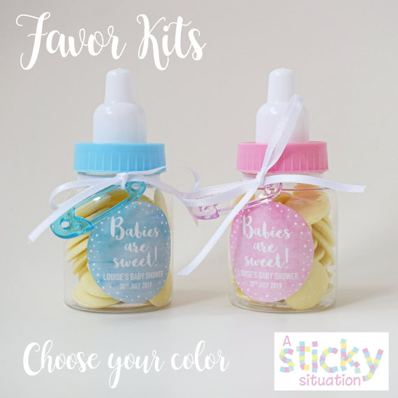 Personalized Baby Shower Favors Babies Are Sweet Favours Etsy