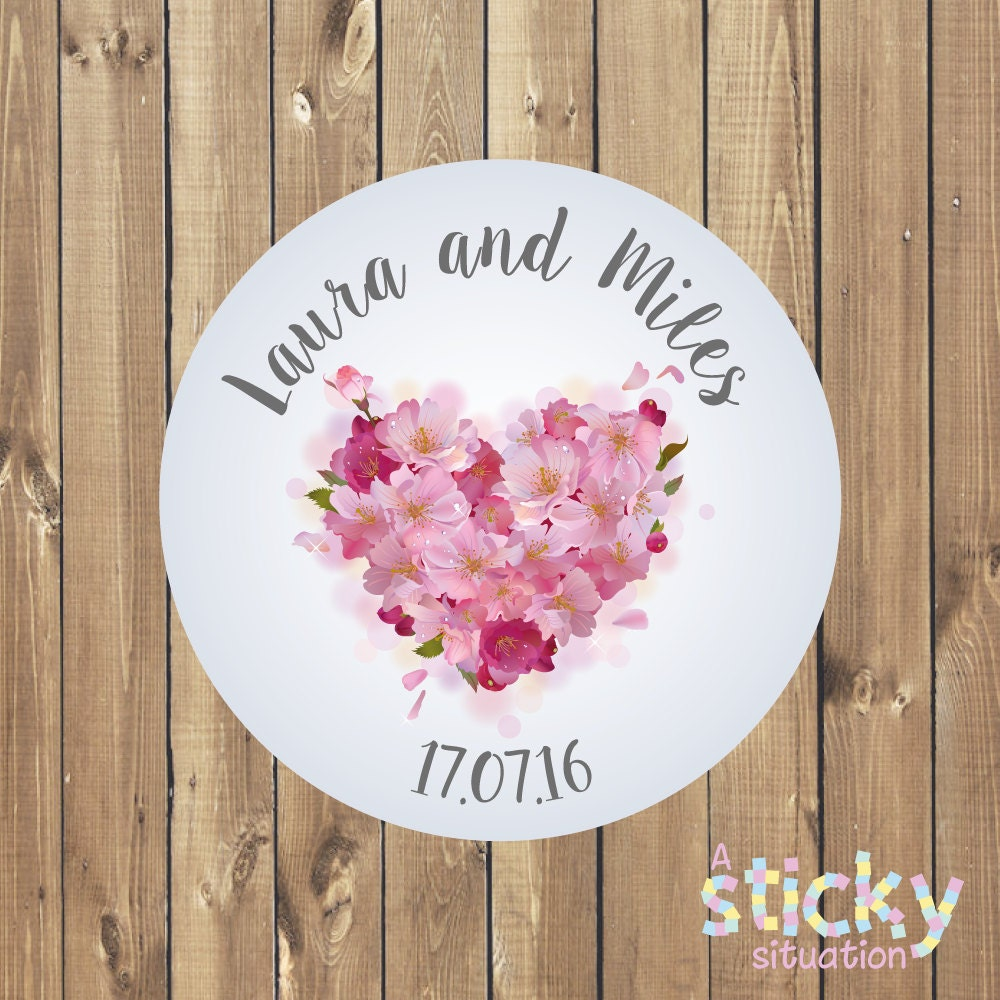 Personalized Wedding Stickers Wedding Labels Wedding Favor