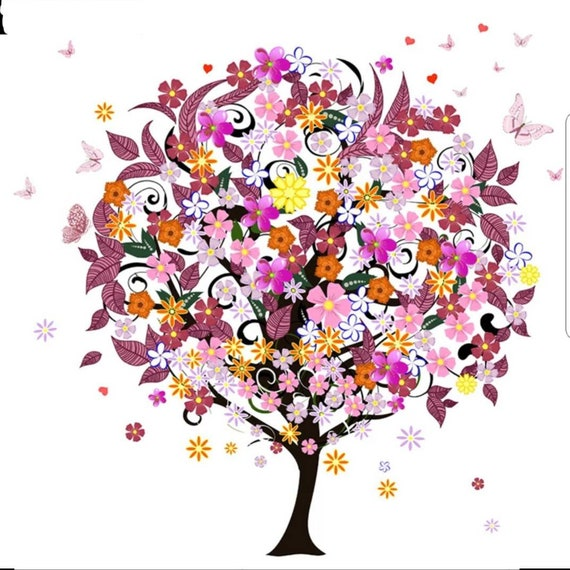 Full Square Diamond Painting Kit 20cm X 20cm 5D DIY Pink  10951d6fe946